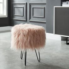 Load image into Gallery viewer, Blush Pink Ottoman | Best Home Decor