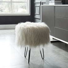 Load image into Gallery viewer, White Ottoman Stool | Best Home Decor