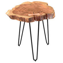 Load image into Gallery viewer, Natural Wood Accent Table Best Home Accent Furniture