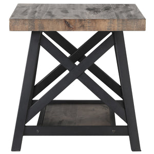 Rustic Oak Accent Table Best Accent Tables