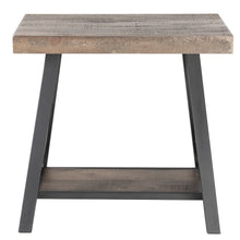 Load image into Gallery viewer, Rustic Oak Accent Table Best Accent Tables