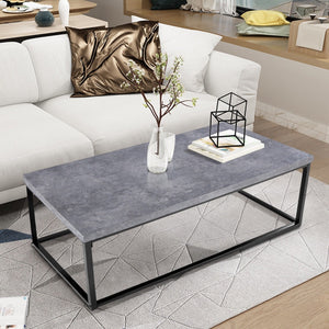 Modern Grey Cocktail Coffee Table Modern Home Decor