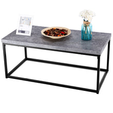 Load image into Gallery viewer, Modern Grey Cocktail Coffee Table