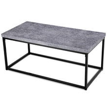 Load image into Gallery viewer, Modern Grey Cocktail Coffee Table Modern Home Decor
