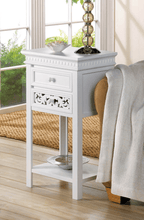 Load image into Gallery viewer, Fleur De Lis Side Table
