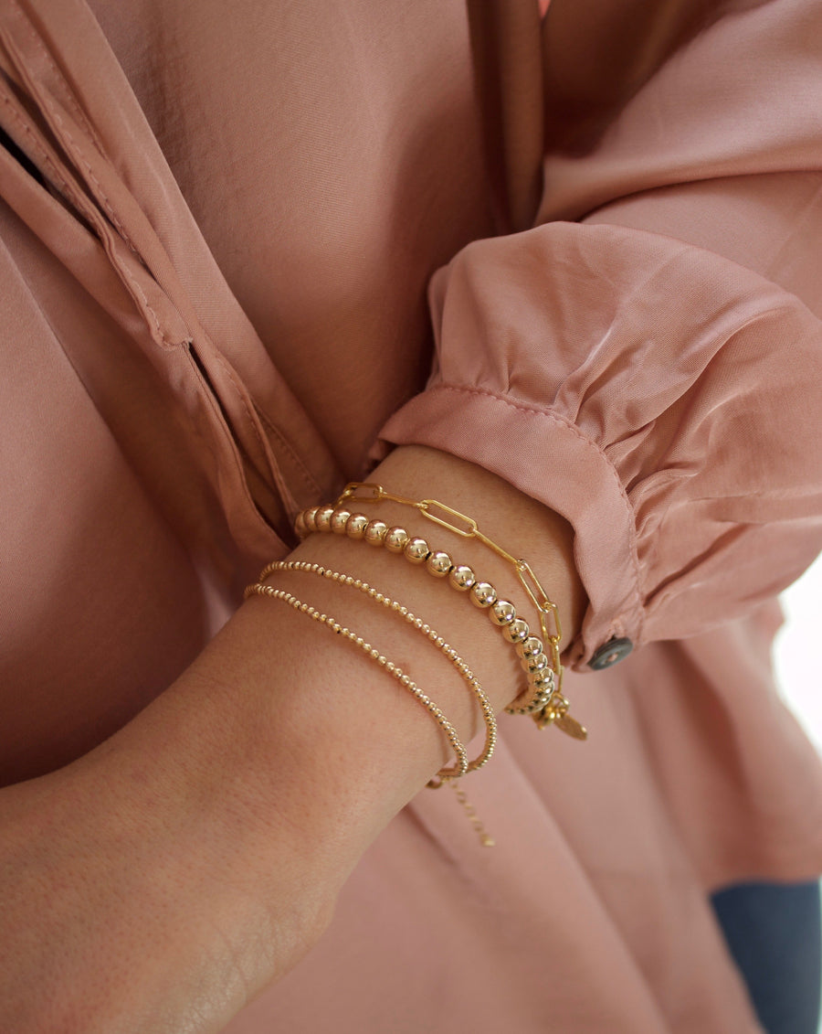 Stay Golden Gold Wrap Bracelet