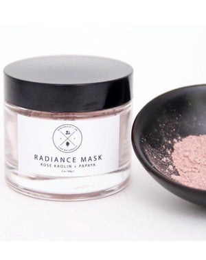 Radiance Face Mask - Rose Kaolin + Papaya