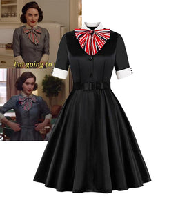 The Marvelous Mrs.Maisel Same Style Cotton Vintage Dress