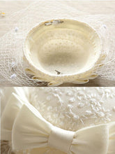 Load image into Gallery viewer, Sweet Bow Lace Tulle Net 1950S Hat
