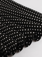 Load image into Gallery viewer, With Pockets Turn Collar Polka Dot 50s 60s Fapper Dress