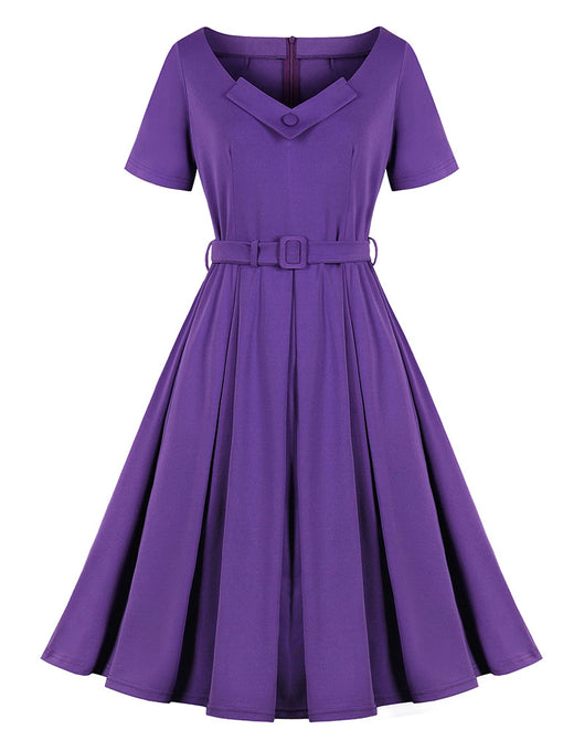 The Marvelous Mrs.Maisel Season 2 Same Style Purple Vintage Dress