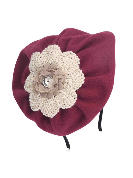 The Marvelous Mrs.Maisel Same Style Vintage 1950S Flower Half-Hat