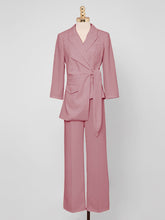 Load image into Gallery viewer, Rose Long Sleeve 1950S Vintage Pant Suit