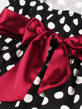 Load image into Gallery viewer, Polka Dots 1950S Vintage Sleeveless Swing Dress