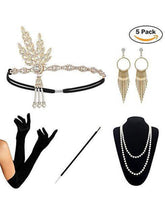 Load image into Gallery viewer, 1920S Flapper Costume Accessory Set