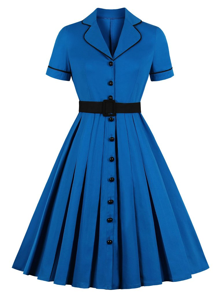 Why Women Kill Beth Ann Sytle 60s Turn Collar Dress