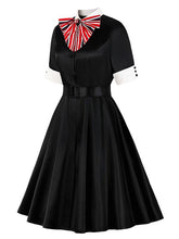 Load image into Gallery viewer, The Marvelous Mrs.Maisel Same Style Cotton Vintage Dress