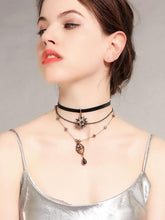 Load image into Gallery viewer, 1950S Star Crystal Choker Vintage Necklace