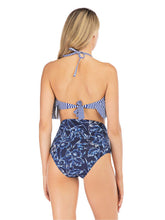 Load image into Gallery viewer, Retro Style High Waisted Sexy Backless Two Pieces Swimsuit Sets