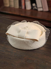 Load image into Gallery viewer, 100%Wool 1950S Pillbox Hat Mrs Masiel Same Style Hat