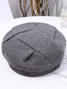 Pleated Nylon French Style Beret Cap/Hat