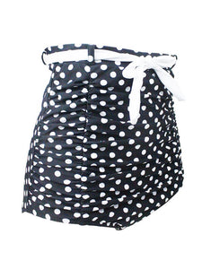 Concise High Waisted Dots Swimsuit For Beach And Hot Spring