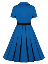 Load image into Gallery viewer, Why Women Kill Beth Ann Sytle 60s Turn Collar Dress