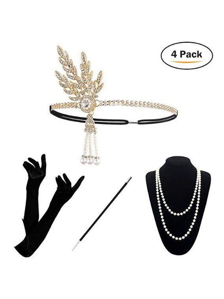 1920S Flapper Costume Accessory Set
