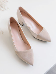 Stiletto Heel Pointed Toe PU Vintage Shoes