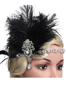 1920S Flapper Costume Feather Accessory