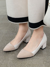 Load image into Gallery viewer, Stiletto Heel Pointed Toe PU Vintage Shoes