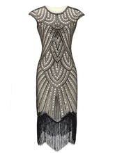 Load image into Gallery viewer, 1920S Beaded Flapper Gatsby Dress