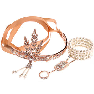 1920S Flapper Costume Great Gatsby Accessory Set