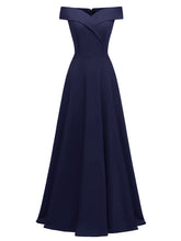 Load image into Gallery viewer, Off the Shoulder  Vintage Party Maxi Dress