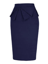 Load image into Gallery viewer, 1950S Ruffles High Wasit Bodycon Retro Skirt