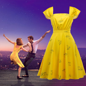 La La Land Leading Lady Same Style Vintage Dress