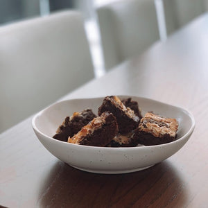 Chocolate & Tahini Brownies
