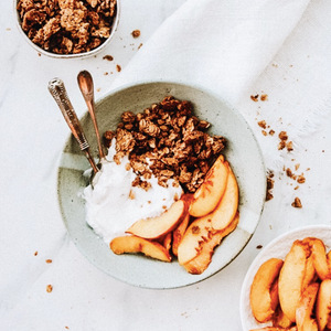 Summer Fruit Granola Crumble