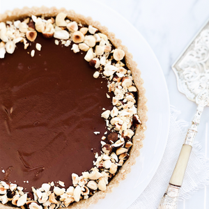 Raw Chocolate Hazelnut Tart