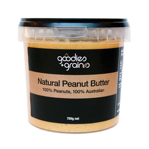 Peanut Butter Natural - Goodies and Grains