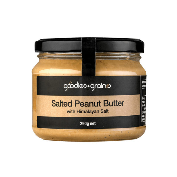 Peanut Butter with Himalayan Salts - Goodies and Grains