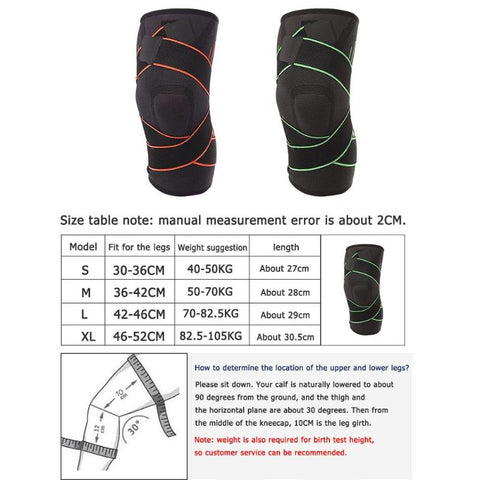 Outdoor Sports Safety Breathable Elastic Knee Protection