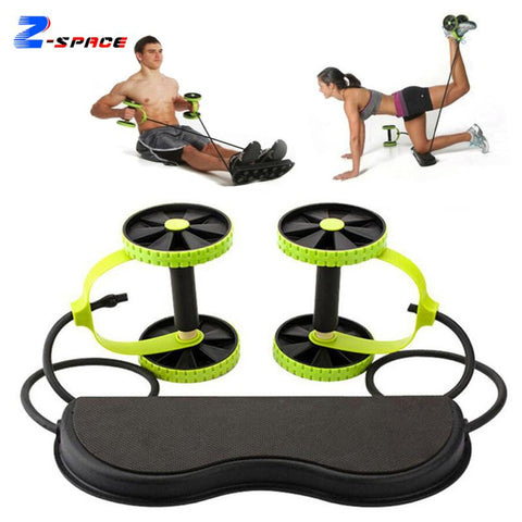 Professional AB Wheel Abdominal Muscle Trainer Bodyshaper Abdominal Roller Body Shaper Fitness Machine Equipment Hot In Sale