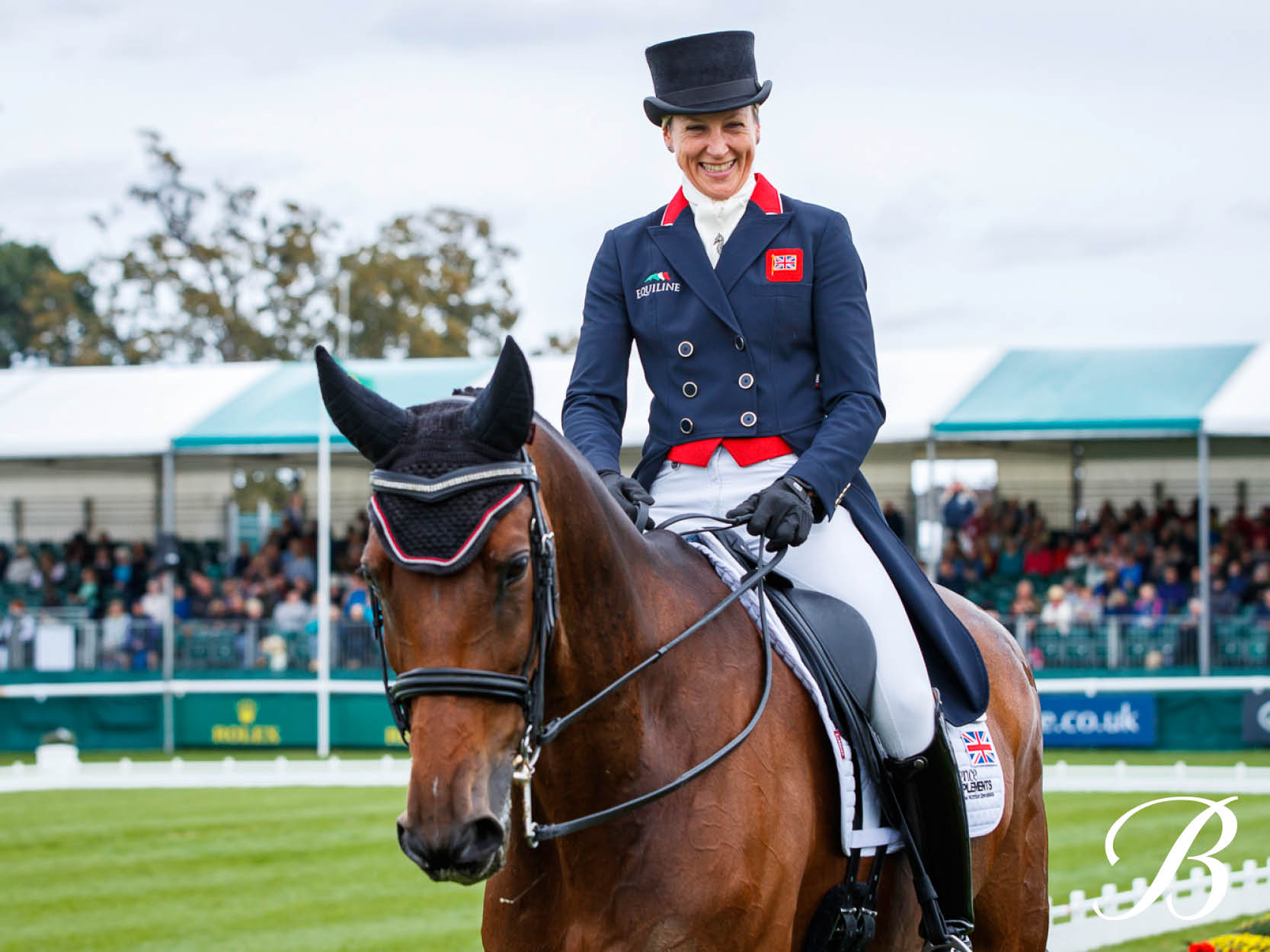 What did CCI5* eventer Sarah Bullimore say about the Bates Victrix?
