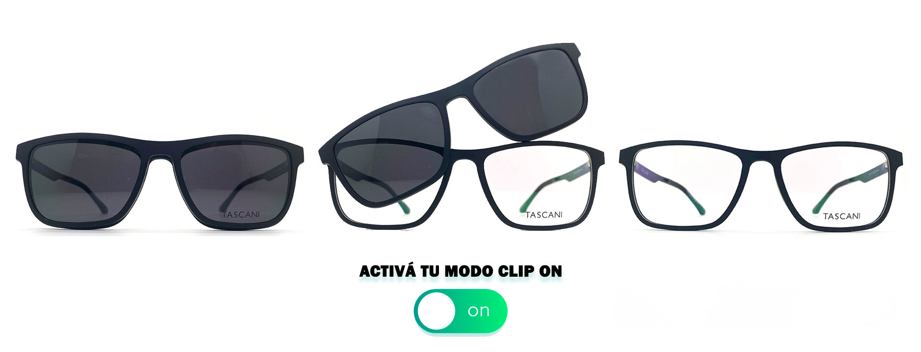 Anteojo Clip On