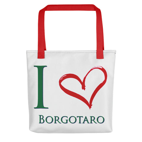 I Love Borgotaro Tote bag