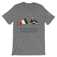 Borgotarese from Scotland Short-Sleeve Unisex T-Shirt
