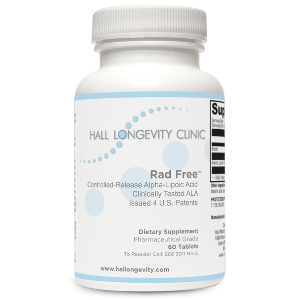 Rad Free Controlled-Release Alpha-Lipoic Acid