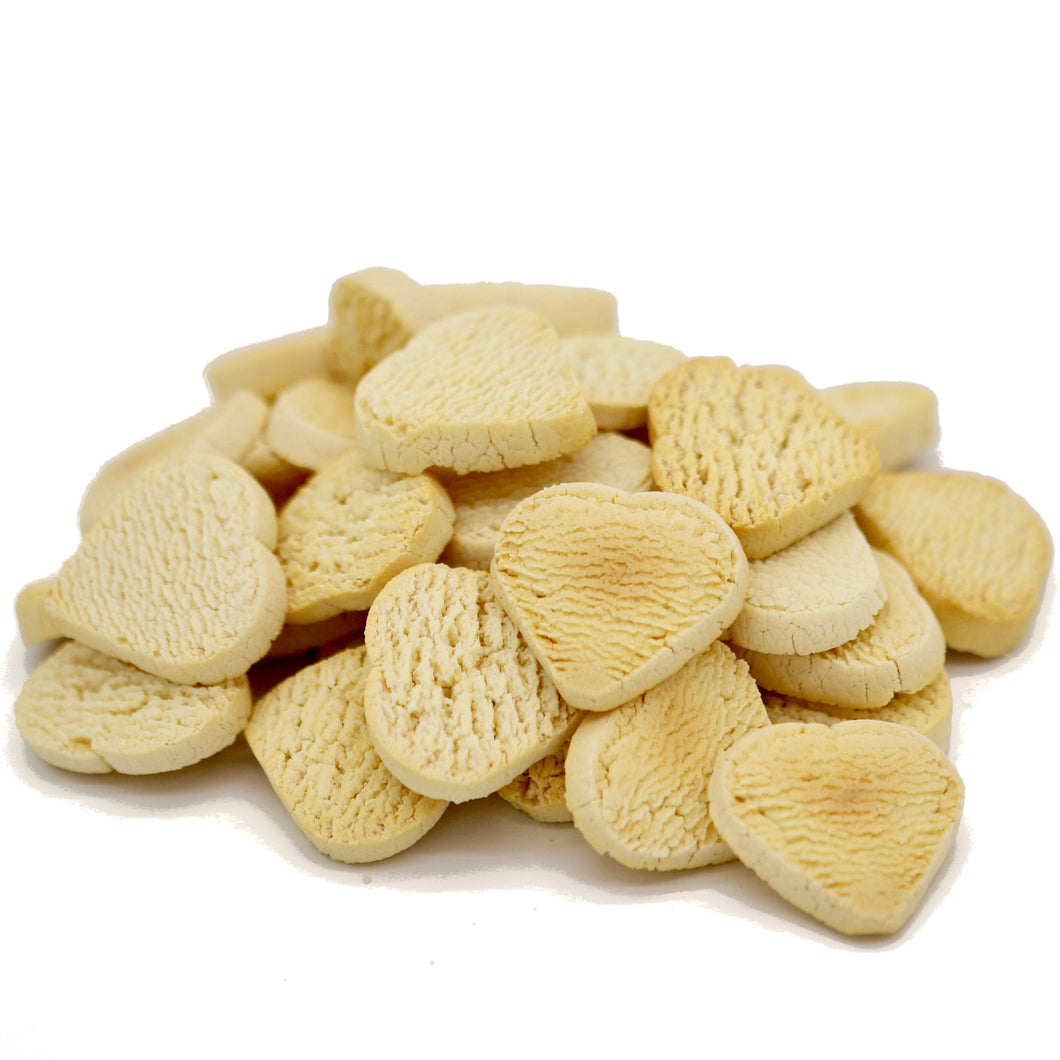 Pumpkin, Carrot, and Sweet Potato Heart Shaped Dog Biscuit - 3kg