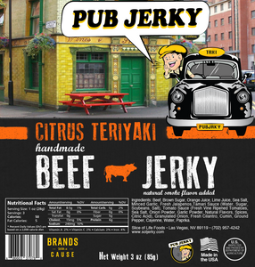 Orange Teriyaki Beef Jerky